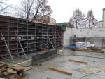 szalunek gotowy do zalania betonem